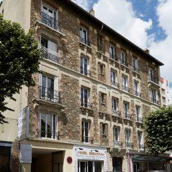 Immeuble existant donnant sur l'avenue Victor Hugo